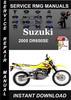 Thumbnail 2005 Suzuki DR650SE Service Repair Manual Download