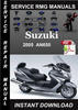 Thumbnail 2005 Suzuki AN650 Service Repair Manual Download