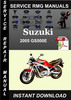 Thumbnail 2005 Suzuki GS500E Service Repair Manual Download