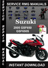 Thumbnail 2005 Suzuki GSF650 GSF650S Service Repair Manual Download