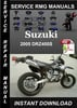 Thumbnail 2005 Suzuki DRZ400S Service Repair Manual Download