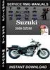 Thumbnail 2005 Suzuki GZ250 Service Repair Manual Download
