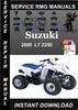 Thumbnail 2005 Suzuki LT Z250 Service Repair Manual Download