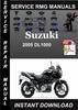 Thumbnail 2005 Suzuki DL1000 Service Repair Manual Download