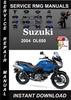 Thumbnail 2004 Suzuki DL650 Service Repair Manual Download