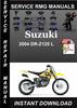 Thumbnail 2004 Suzuki DR-Z125 L Service Repair Manual Download