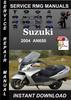 Thumbnail 2004 Suzuki AN650 Service Repair Manual Download