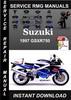 Thumbnail 1997 Suzuki GSXR750 Service Repair Manual Download