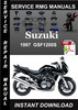 Thumbnail 1997 Suzuki GSF1200S Service Repair Manual Download