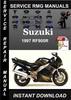 Thumbnail 1997 Suzuki RF900R Service Repair Manual Download