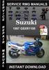 Thumbnail 1997 Suzuki GSXR1100 Service Repair Manual