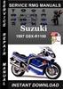 Thumbnail 1997 Suzuki GSX-R1100 Service Repair Manual Download