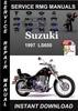 Thumbnail 1997 Suzuki LS650 Service Repair Manual Download