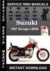 Thumbnail 1997 Suzuki Savage LS650 Service Repair Manual Download