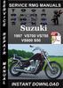 Thumbnail 1997 Suzuki VS700 VS750 VS800 S50 Service Repair Manual Down