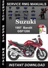Thumbnail 1997 Suzuki Bandit GSF1200 Service Repair Manual Download