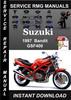 Thumbnail 1997 Suzuki GSF400 Bandit Service Repair Manual Download