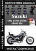 Thumbnail 1992 Suzuki VS700 VS750 VS800 S50 Service Repair Manual Down