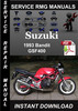 Thumbnail 1993 Suzuki Bandit GSF400 Service Repair Manual Download