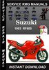 Thumbnail 1993 Suzuki RF600 Service Repair Manual Download