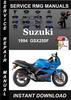 Thumbnail 1994 Suzuki GSX250F Service Repair Manual Download