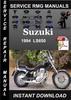 Thumbnail 1994 Suzuki LS650 Service Repair Manual Download