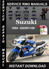 Thumbnail 1994 Suzuki GSXR1100 Service Repair Manual Download