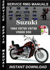 Thumbnail 1994 Suzuki VS700 VS750 VS800 S50 Service Repair Manual Down
