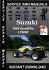 Thumbnail 1988 Suzuki QuadZilla LT500R Service Repair Manual Download
