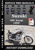 Thumbnail 1989 Suzuki Savage LS650 Service Repair Manual Download