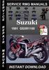 Thumbnail 1991 Suzuki GSXR1100 Service Repair Manual Download