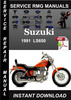 Thumbnail 1991 Suzuki LS650 Service Repair Manual Download