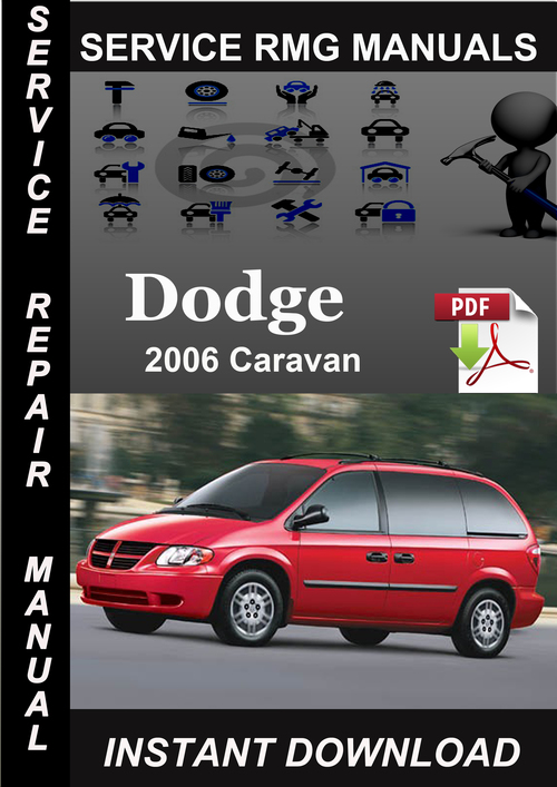 2006 Dodge Caravan Service Repair Manual Download
