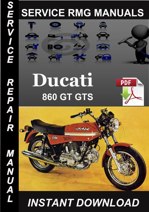 ducati 860 gt gts service repair manual download