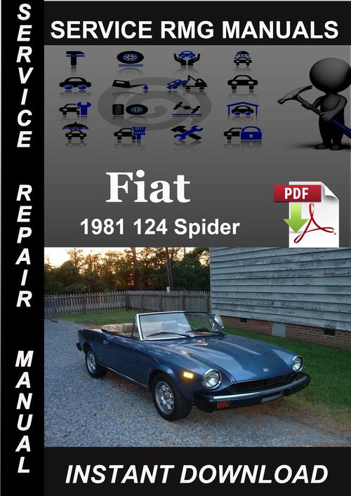 1981 fiat 124 spider service repair manual download tradebit. Black Bedroom Furniture Sets. Home Design Ideas
