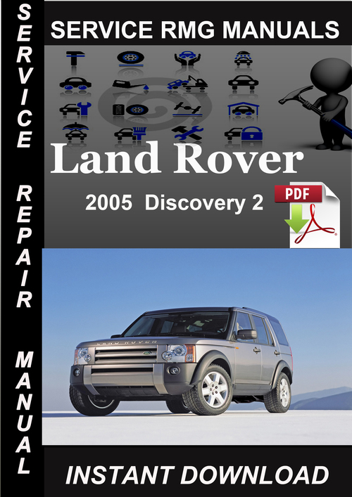 service manual free 2005 land rover discovery service. Black Bedroom Furniture Sets. Home Design Ideas