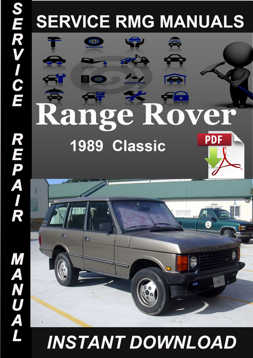 1989 Range Rover Classic Service Repair Manual Download