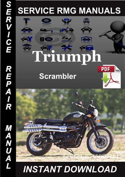 triumph scrambler service repair manual download download manuals rh tradebit com 2013 Kia Forte Repair Manual Kia Factory Workshop Service Manual