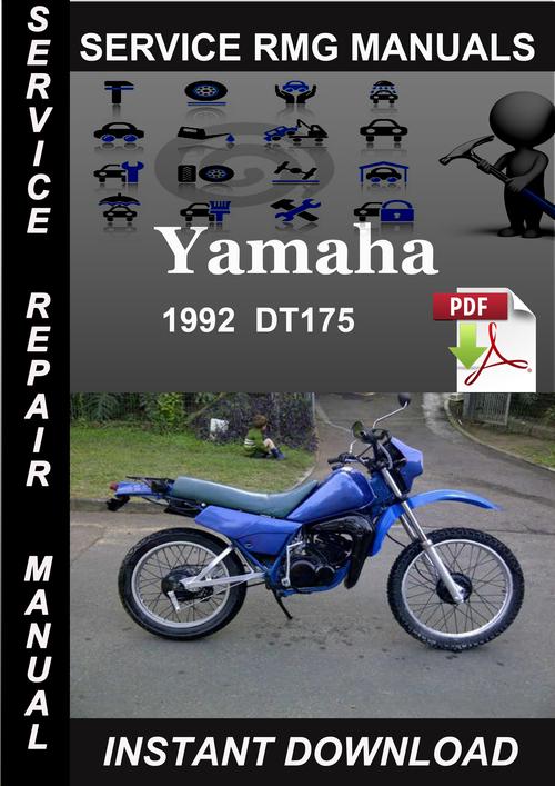 1992 yamaha dt175 service repair manual download. Black Bedroom Furniture Sets. Home Design Ideas