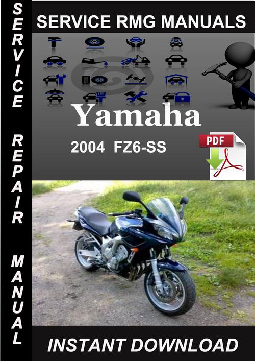 2006 yamaha fz6 service manual pdf