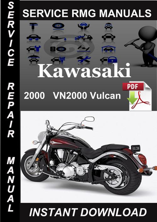 Kawasaki Vulcan 2000 Service manual