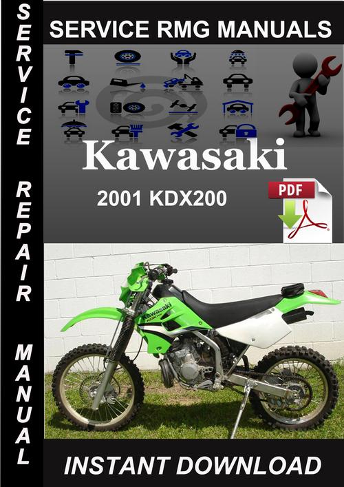 89 Kawasaki Bayou 200 Repair Manual