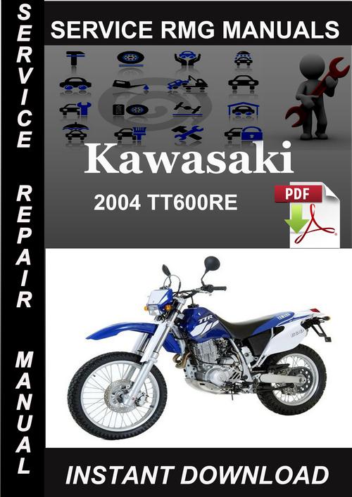 2004 Yamaha Tt600re Service Repair Manual Download