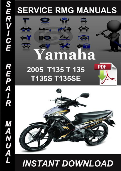 2005 yamaha t135 t 135 t135s t135se service repair manual do down rh tradebit com Yamaha Sniper Sticker Yamaha Sniper 135 Modified