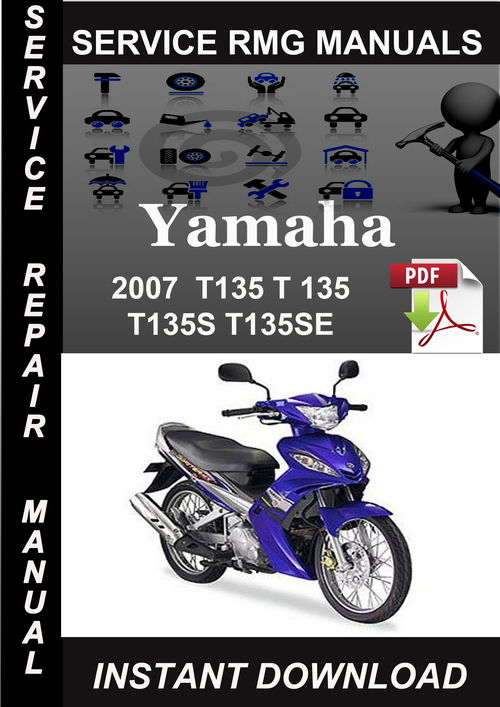 Pay for 2007 Yamaha T135 T 135 T135S T135SE Service Repair Manual Do