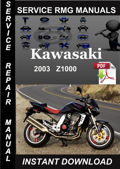 2003 Kawasaki Z1000 Service Manual Download - Download ...
