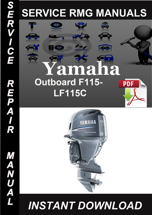 2001 yamaha f115 service manual ggetblack for Yamaha outboard service