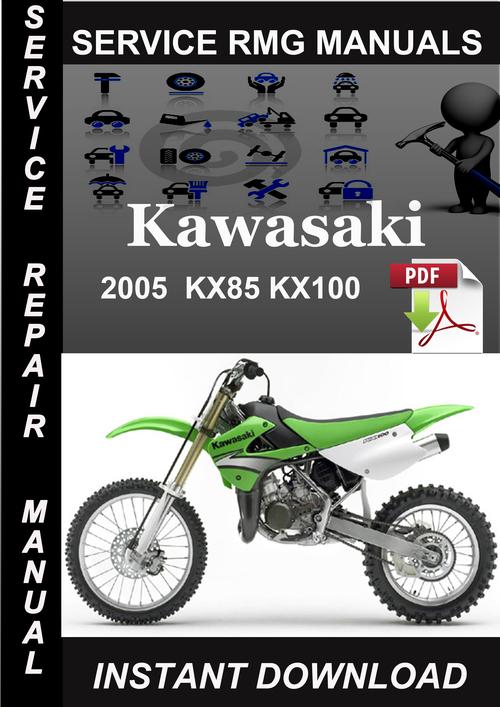 2005 Kawasaki Kx85 Kx100 Service Repair Manual Download