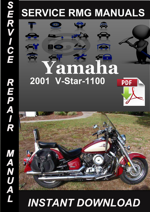 Pay for 2001 Yamaha V-Star-1100 Service Repair Manual Download