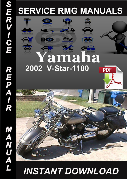 Pay for 2002 Yamaha V-Star-1100 Service Repair Manual Download